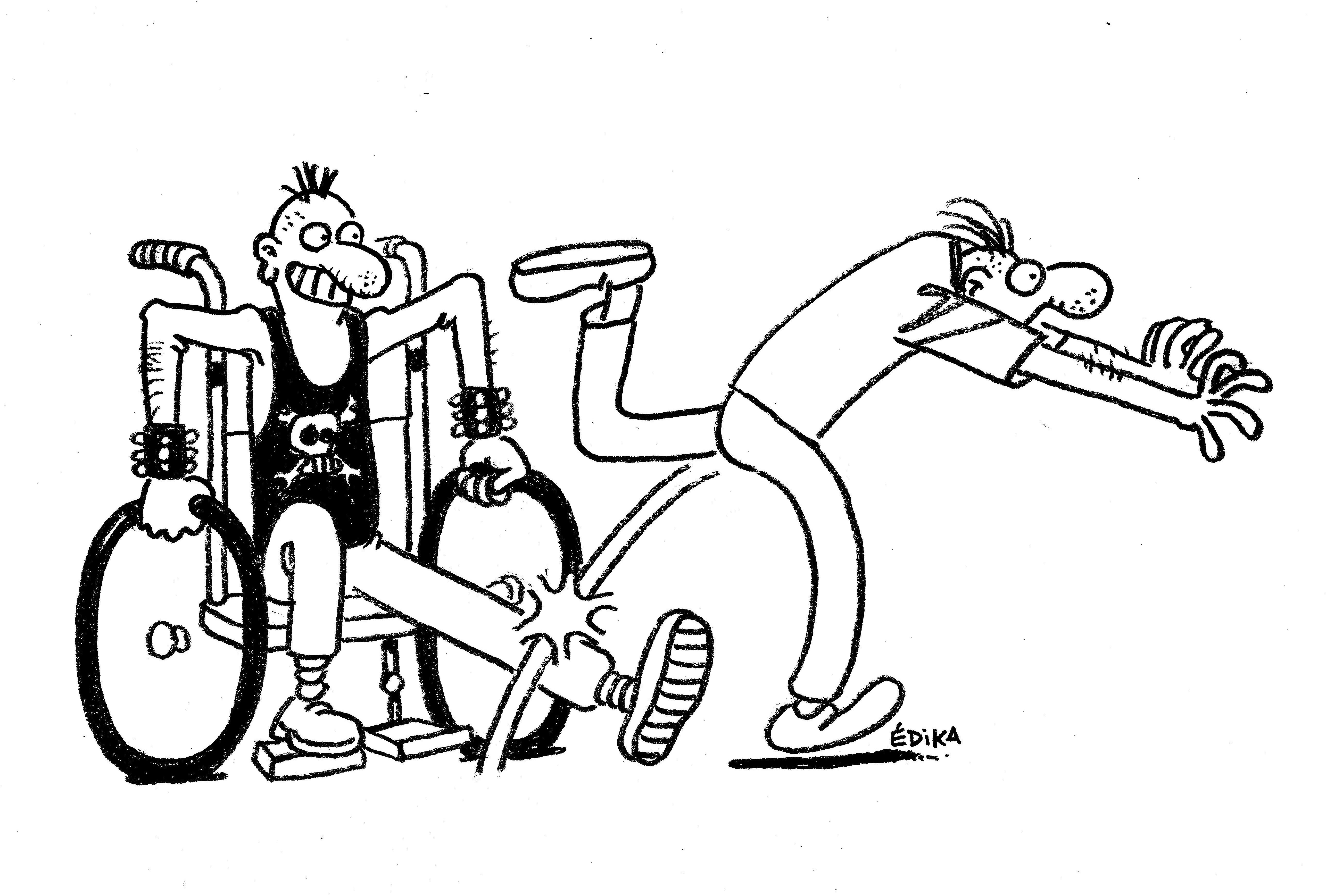 """drole image du handicap ou image """"drole"""" du handicap"""